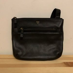 NWOT Leather Fossil Tessa Crossbody
